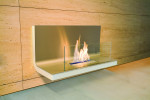 Radius Design - Wall Flame I, weiß-matt