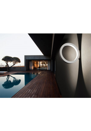 Cini & Nils Assolo Outdoor wall and ceiling lamp white