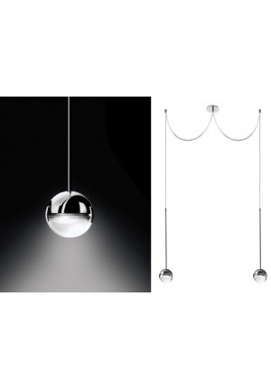 Cini & Nils Convivio pendant lamp 2-lights chrome