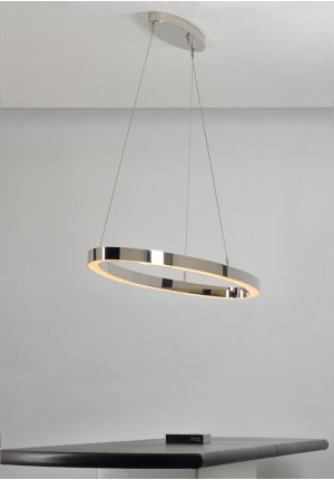 Florian Schulz Ova chrome-plated brass