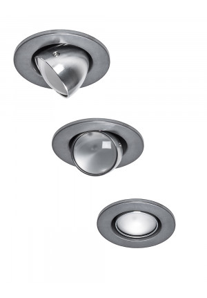 Less'n'more Mimix Concrete Downlight ring grey