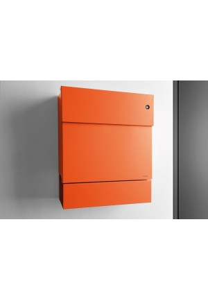 Radius Design - Wandbriefkasten Letterman V mit Klingel orange