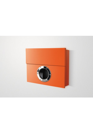 Radius Design - Wandbriefkasten Letterman XXL orange