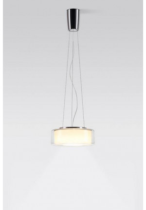 Serien Lighting Curling Suspension Rope clear/ cylindrical opal