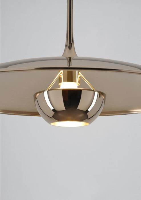 Florian Schulz Onos 55 Center Pull shade brass polished lacquered