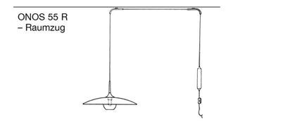 Florian Schulz Onos 55 Straight Pull Ceiling Mounted graphic