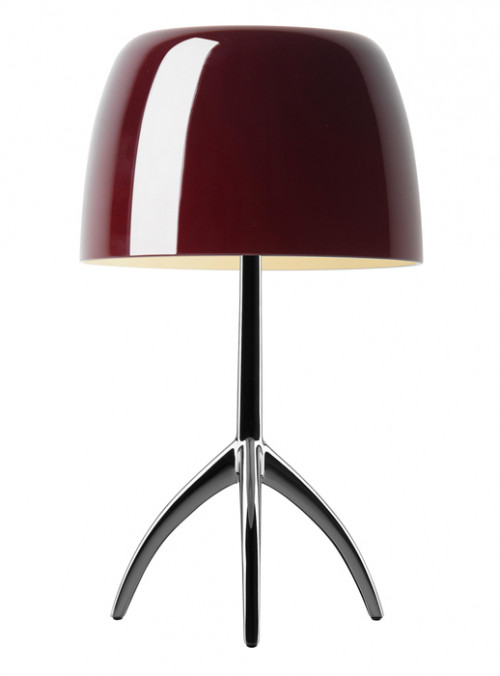 Foscarini Lumiere 05 Piccola cherry frame chrome black off-switched