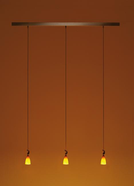 K-meral Cecil pendant lamp 3-light with TIWI