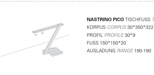 Byok Nastrino Pico Table Stand graphic