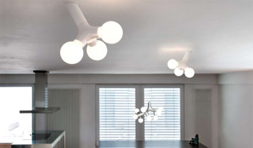 Next DNA wall-ceiling single white