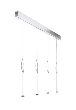 Anta Ny 5 lamps alu with height-adjustability