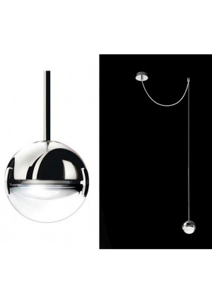 Cini & Nils Convivio pendant lamp decentralized LED chrome