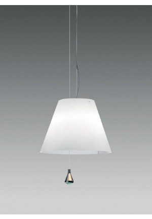 Luceplan Costanza LED Suspension white