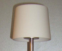 Cut floor lamp Replacement - porcelain shade