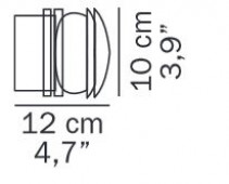 Fresnel 1148 replacement glass