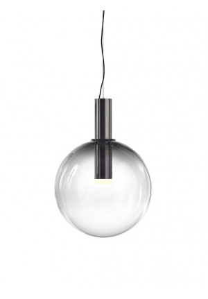 Bomma Phenomena Pendant Large Ball smoke, mounting nickel