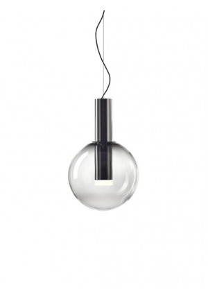Bomma Phenomena Pendant Small Ball smoke, mounting nickel