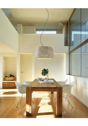 Bover Fora S beige lampshade