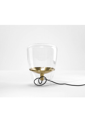 Brokis Balloons Small transparent, reflector brass