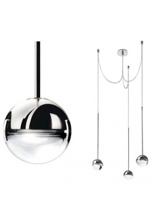 Cini & Nils Convivio pendant lamp 3-lights chrome