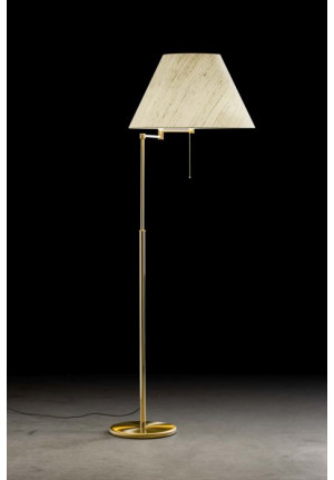 Holtkötter 2543 brass polished/brass matt, shade wild silk