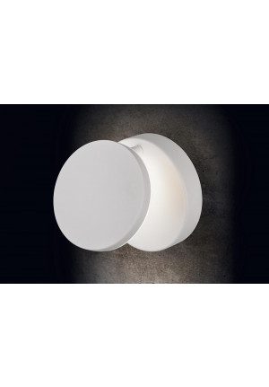 Holtkötter Plano W white, dimmable on site with a trailing edge dimmer