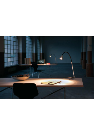 Less'n'more Athene Table Light large A-TL2 aluminum, flex arm textile black