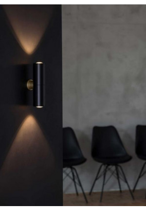 Less'n'more Athene Wall Light A-2WS body black, heads black