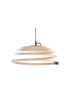 Secto Design Aspiro 8000 Natural birch red cable