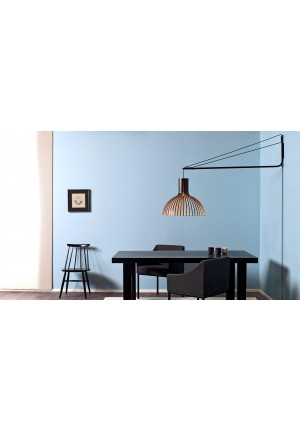 Secto Design Varsi 1000 black with Victo 4250 black