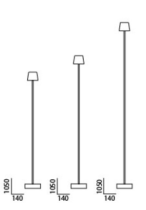 Anta Cut floor lamp spare part