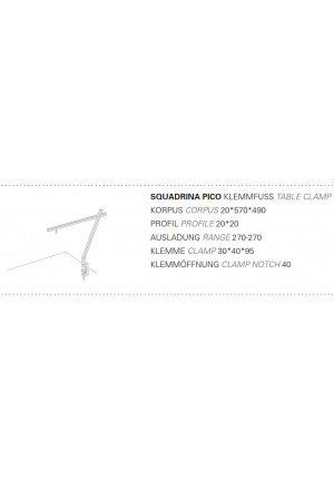Byok Squadrina Pico Clamp Base