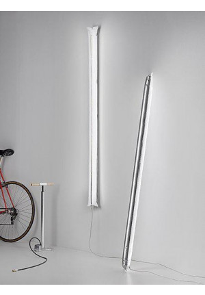 Ingo Maurer Blow Me Up by power plug 120 cm silver
