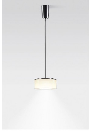 Serien Lighting Curling Suspension Tube Acryl clear / cylindric opal M