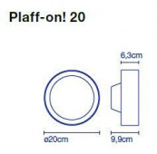 Plaff-on 20 replacement glass